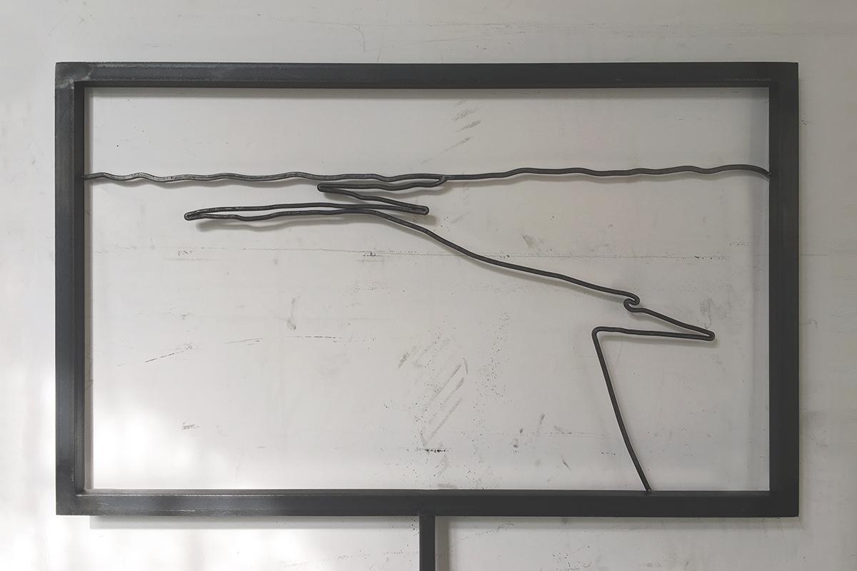 Grenzlandgalerie Metallrahmen