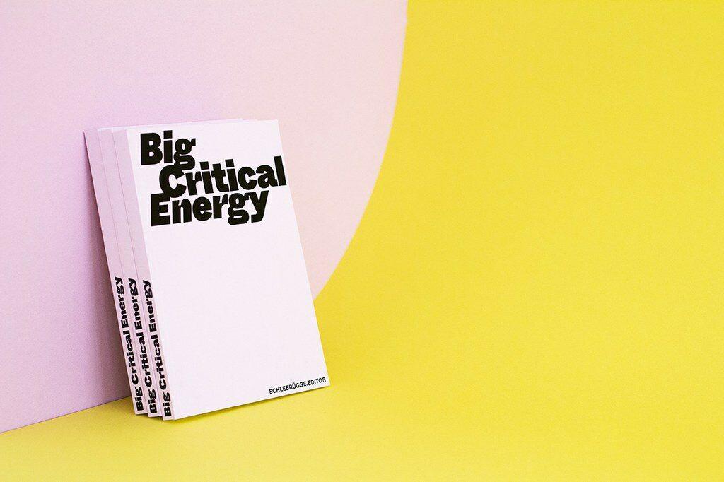 Book Big Critical Energie - Foto: Guilherme Maggessi